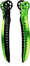 Духи, Парфюмерия, косметика Зажим для волос, 94 мм, зеленый - Y.S.Park Professional Chignon Clip L