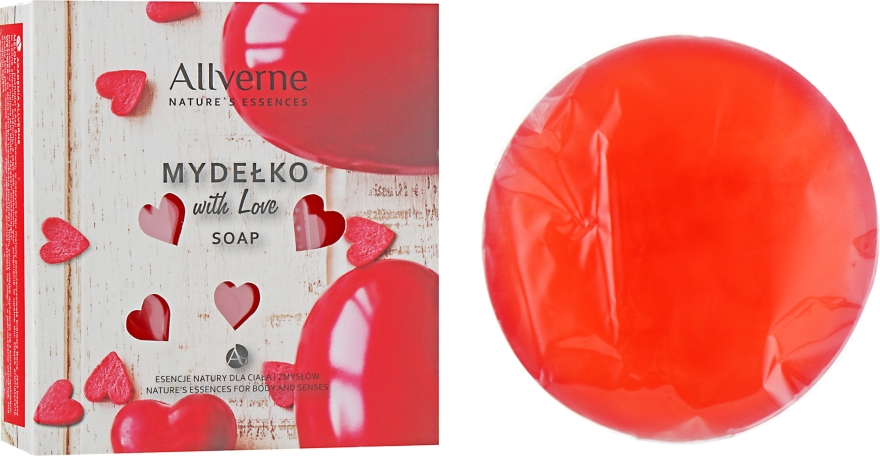 "Мыло ""With Love"" - Allverne With Love Soap"