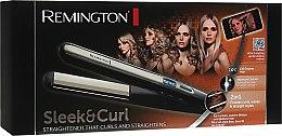 Выпрямитель для волос - Remington S6500 E51 Sleek & Curl Straightener — фото N3