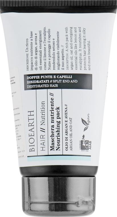 Маска для волос питательная - Bioearth Hair Nourishing Mask