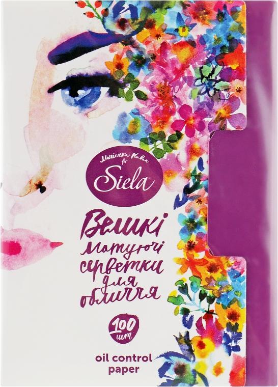 Матирующие салфетки для лица - Siela Cosmetic