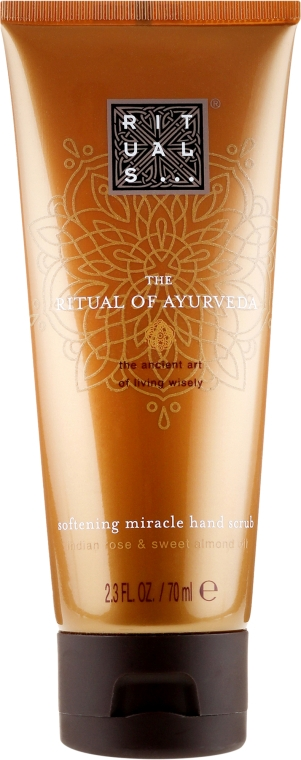 Скраб для рук - Rituals The Ritual of Ayurveda Hand Scrub