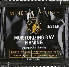 Духи, Парфюмерия, косметика Дневной увлажняющий крем-лифтинг - Satara Mineral Active Moisturizing Day Firming Cream (пробник)
