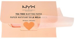 """Духи, Парфюмерия, косметика Салфетки для лица """"Tea Tree"""" - NYX Professional Makeup Blotting Paper"""