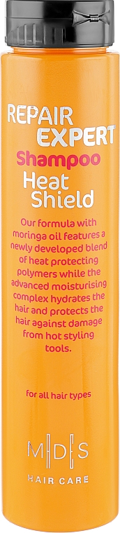 """Шампунь для волос """"Теплозащитный экран"""" - Mades Cosmetics Repair Expert Heat Shield Shampoo"""