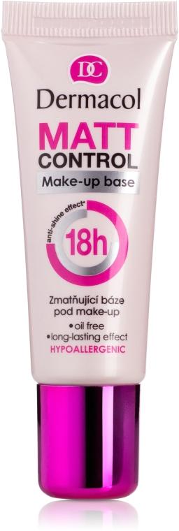 Матирующая база под макияж - Dermacol Matt Control MakeUp Base 18h
