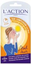 Духи, Парфюмерия, косметика Маска для здорового цвета лица - L`Action Paris Lifestyle Fair Complexion Face Mask