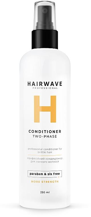 "Кондиционер двухфазный для ломких волос ""More Strength"" - HAIRWAVE Two-Phase Conditioner For Brittle Hair"