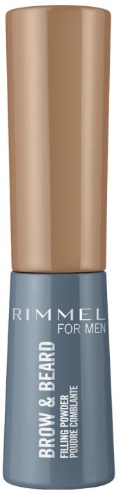 Пудра для бровей - Rimmel Men Brow & Beard Filling Powder