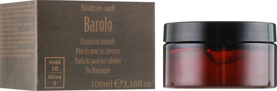 Фиксирующая помадка для волос - Barba Italiana Barolo Gel Strong