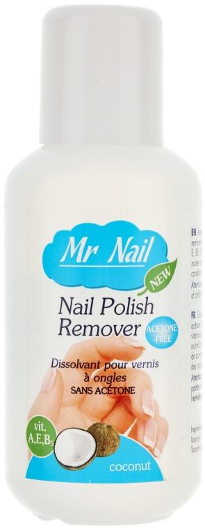 """Жидкость для снятия лака """"Кокос"""" - Ados Mr Nail Polish Remover Coconut"""