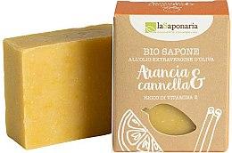 Духи, Парфюмерия, косметика Мыло с экстрактом аппельсина и корицы - La Saponaria Orange & Cinnamon Soap