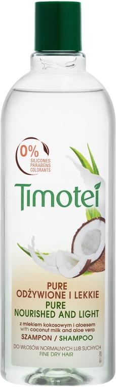 """Шампунь для волос """"Невесомое питание"""" - Timotei"""