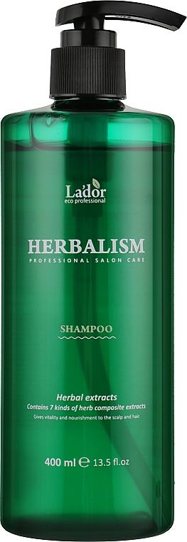 Шампунь успокаивающий с травяными экстрактами - La'dor Herbalism Shampoo