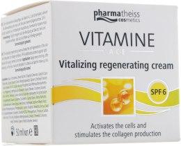 Духи, Парфюмерия, косметика Крем для восстановления и сияния кожи с SPF 6 - D'oliva Pharmatheiss Cosmetics Vitalizing And Regenerating Skincare With SPF 6