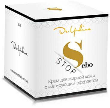 Крем для жирной кожи с матирующим эффектом - Dr. Yudina Sebo Stop