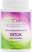 Духи, Парфюмерия, косметика Антиоксидантная маска - Biotonale Algi Twin Detox Mask