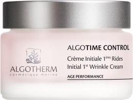 Духи, Парфюмерия, косметика Крем-контроль первых морщин - Algotherm Algotime Control Initial 1st Wrinkle Cream