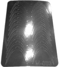 Парфумерія, косметика Металізовані дизайнерські наклейки, срібло - Canni