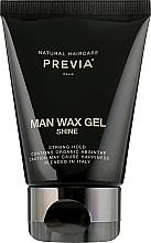 Духи, Парфюмерия, косметика Гель-воск для волос - Previa Man Wax Gel Shine