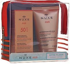 Духи, Парфюмерия, косметика Набор - Nuxe Sun Set Summer Protection Ritual (cr/50ml + lot/100ml)