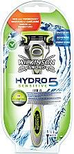 Духи, Парфюмерия, косметика Бритва с 1 сменной кассетой - Wilkinson Sword Hydro 5 Sensitive