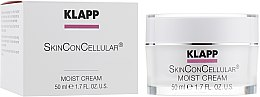 Духи, Парфюмерия, косметика Увлажняющий крем для лица - Klapp Skin Con Cellular Moist Cream