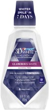 "Духи, Парфюмерия, косметика Отбеливающий ополаскиватель для полости рта ""Мультизащита"" - Crest 3D White Luxe Glamorous Multi-Care Whitening Mouthwash Fresh Mint"