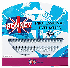 Духи, Парфюмерия, косметика Набор пучковых ресниц - Ronney Professional Eyelashes 00038