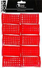 Духи, Парфюмерия, косметика Бигуди пластиковые d40 мм, красные - Tico Professional