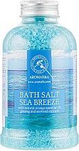 Духи, Парфюмерия, косметика Соль морская для ванн «Морской бриз» - Aromatika Bath Salt Sea Breeze
