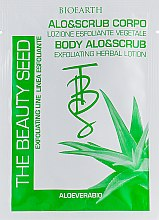 Духи, Парфюмерия, косметика Отшелушивающий скраб для тела с алоэ - Bioearth The Beauty Seed Alo&Scrub Viso
