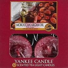 """Духи, Парфюмерия, косметика Чайные свечи """"Марроканское арагановое масло"""" - Yankee Candle Scented Tea Light Candles Moroccan Argan Oil"""