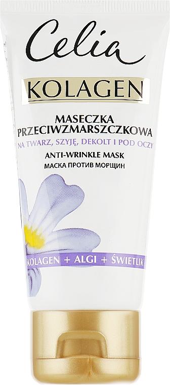 Маска от морщин для лица - Celia Collagen Mask