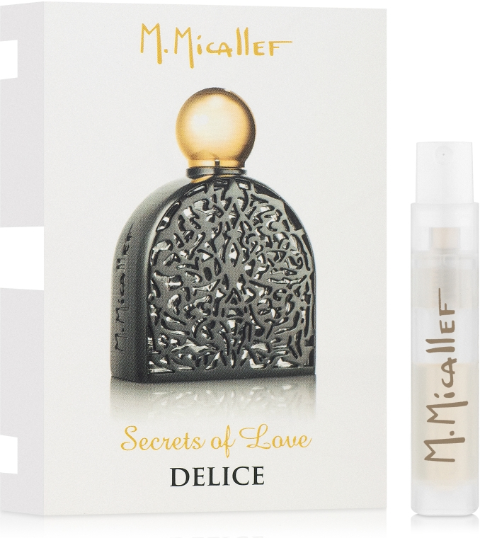 M. Micallef Secrets of Love Delice - Парфюмированная вода (пробник)