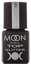 Духи, Парфюмерия, косметика Топ для гель-лака с глиттерными частичками - Moon Full Top Glitter
