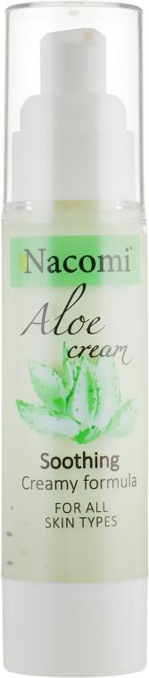 "Крем-гель для лица ""Алоэ"" - Nacomi Aloe Face Gel Cream"