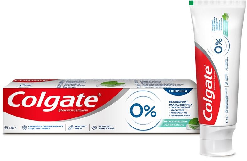 """Зубная паста от кариеса """"Мягкое очищение"""" - Colgate 0%"""