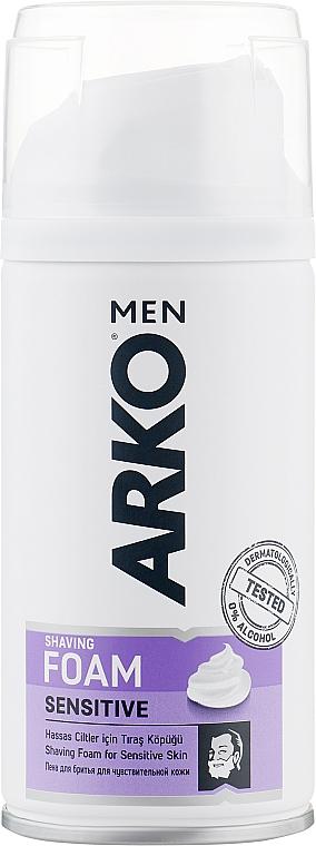 """Пена для бритья """"Sensitive"""" - Arko Men"""