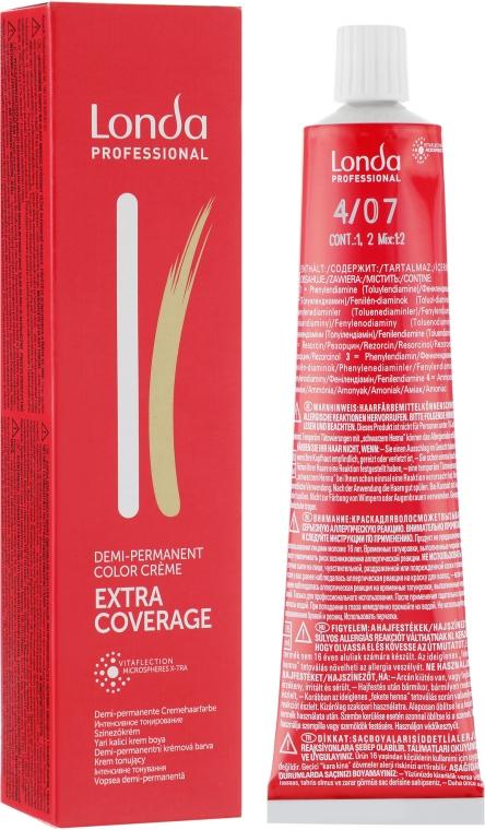 Мягкая краска для седых волос - Londa Extra Coverage