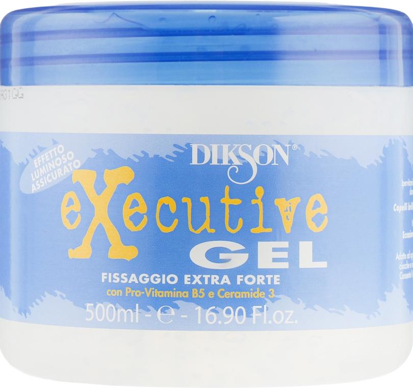 Гель сильной фиксации с эффектом блеска - Dikson Executive Gel