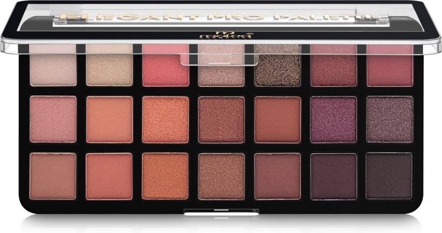 Палитра теней для век - Malva Cosmetics Elegant Pro Palette