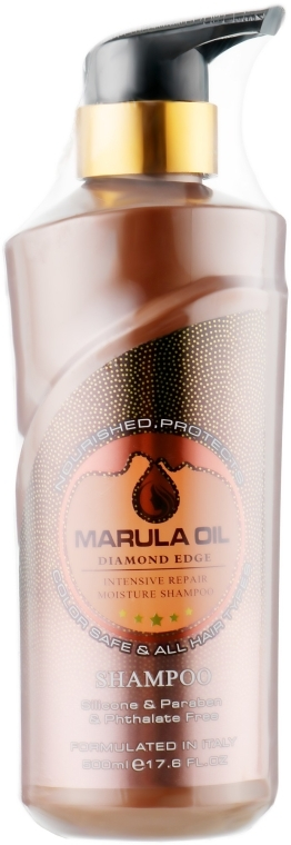 Шампунь для волос с маслом марулы - Bingo Marula Oil Intensive Repair Moisture Shampoo — фото N1