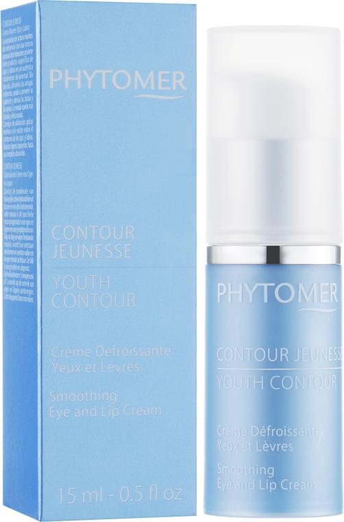 Восстанавливающий крем от морщин для кожи вокруг глаз и губ - Phytomer Youth Contour Reviving Wrinkle Correction Cream