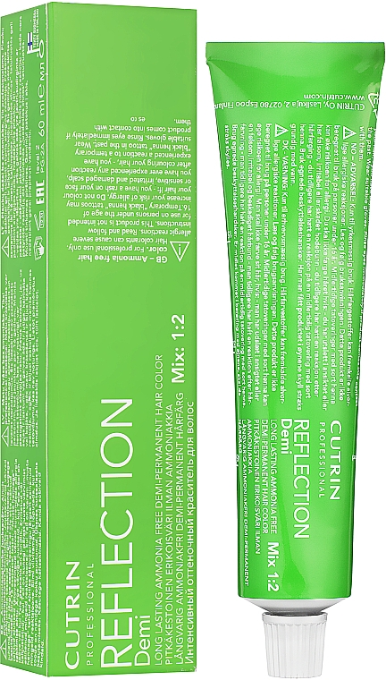 Безаміачна крем-фарба - Cutrin Reflection Demi — фото N1