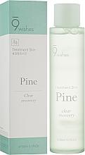 Духи, Парфюмерия, косметика Успокаивающий тонер с экстрактом сосновых иголок - 9 Wishes Pine Treatment Skin