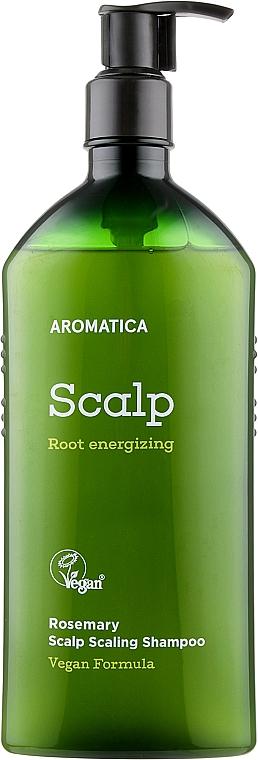 Бессульфатный шампунь с розмарином - Aromatica Rosemary Scalp Scaling Shampoo