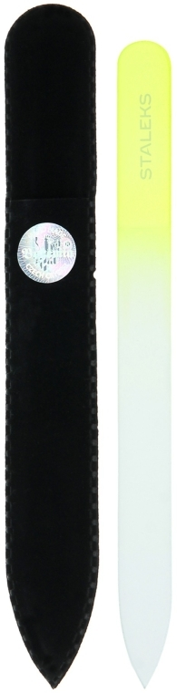 Пилочка хрустальная для ногтей, F4-12-140, салатовая - Staleks (14см)