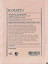 Парфумерія, косметика Маска для обличчя, проти пігментних плям - Bioearth Anti-Pigmentation Face Mask
