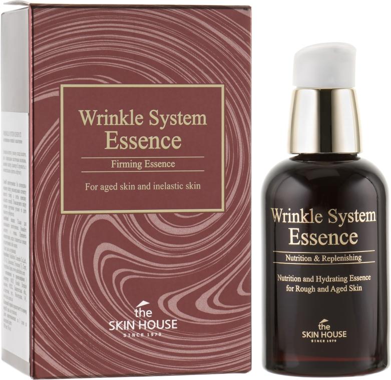 The Skin House Wrinkle System Essence - Антивозрастная эссенция с коллагеном: купить по лучшей цене в Украине | Makeup.ua
